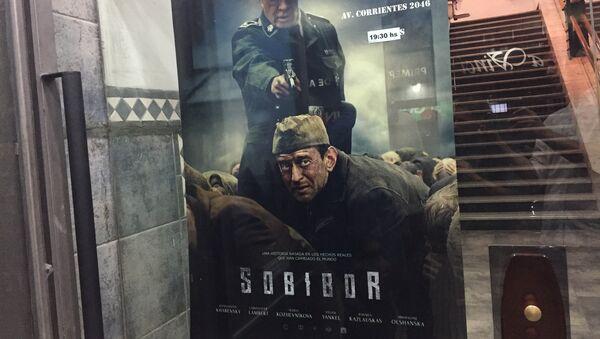 Afiche de Sobibor, película elegida para representar a Rusia en los premios Óscar - Sputnik Mundo