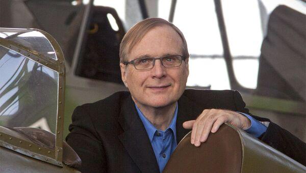 Paul Allen, cofundador de Microsoft - Sputnik Mundo