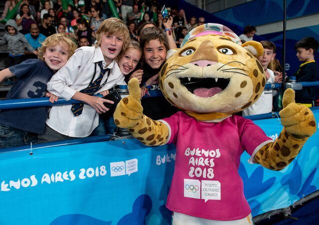 El #Pandi, mascota de los Juegos Olimpicos de la Juventud, Buenos Aires 2018