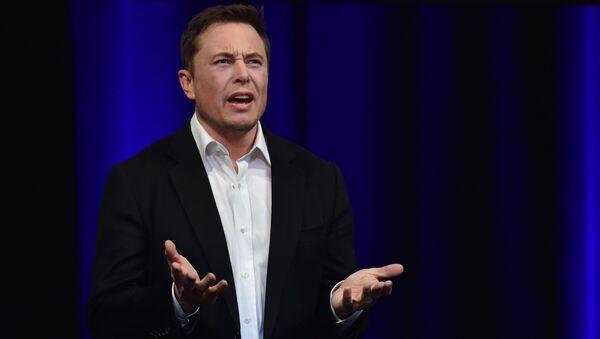 Elon Musk, empresario e inventor estadounidense - Sputnik Mundo
