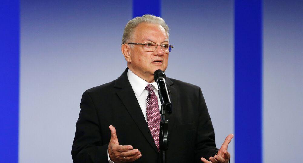 Eduardo Stein, representante Especial Conjunto de Acnur y la OIM para los refugiados y migrantes venezolanos