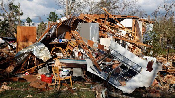 Consecuencias del huracán Michael en Florida - Sputnik Mundo