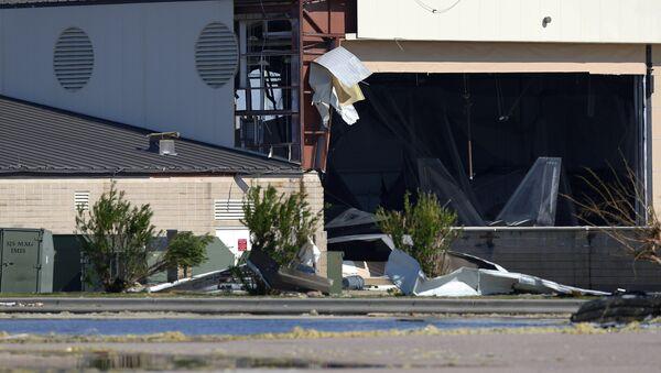 Base aérea Tyndall dañada por el huracán Michael - Sputnik Mundo