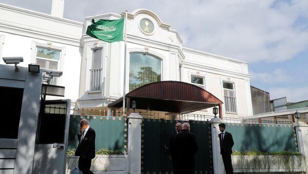 El Consulado General de Arabia Saudí en Estambul, Turquía - Sputnik Mundo