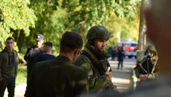 Situación en la ciudad rusa de Kerch tras explosión - Sputnik Mundo