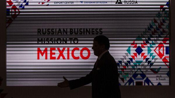 Participante de la misión empresarial en México del Centro Ruso de Exportaciones - Sputnik Mundo