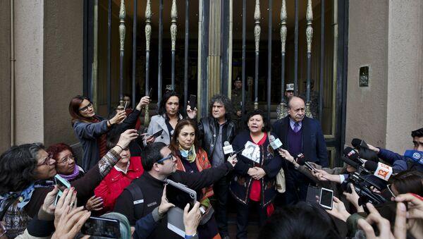 Lorena Pizarro, presidenta de la Agrupación de Familiares de Detenidos Desaparecidos de Chile - Sputnik Mundo