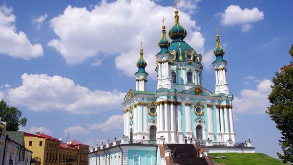 La iglesia de San Andrés en Kiev - Sputnik Mundo