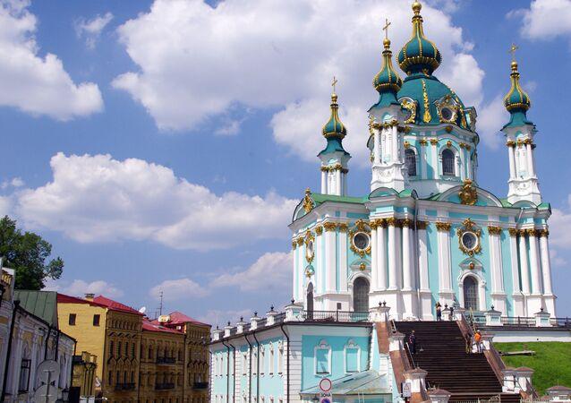La iglesia de San Andrés en Kiev
