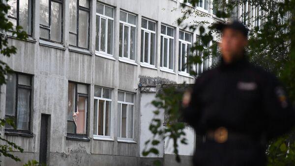 Situación en la ciudad rusa de Kerch tras la masacre - Sputnik Mundo