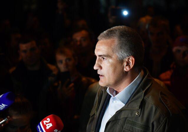 Serguéi Aksiónov, jefe de la República de Crimea