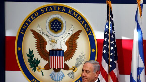 Inauguración de la nueva Embajada de EEUU en Jerusalén (archivo) - Sputnik Mundo
