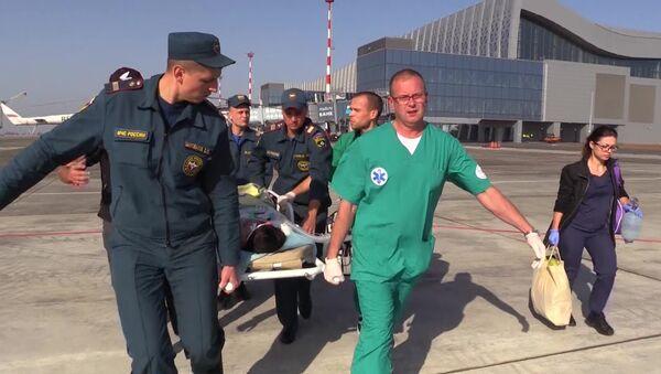 Evacuación de los heridos de la masacre de Kerch - Sputnik Mundo