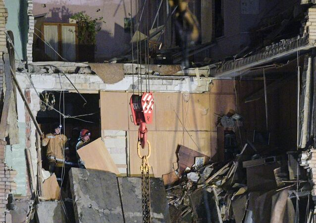 Explosión en una planta pirotécnica en Gátchina, región de San Petersburgo