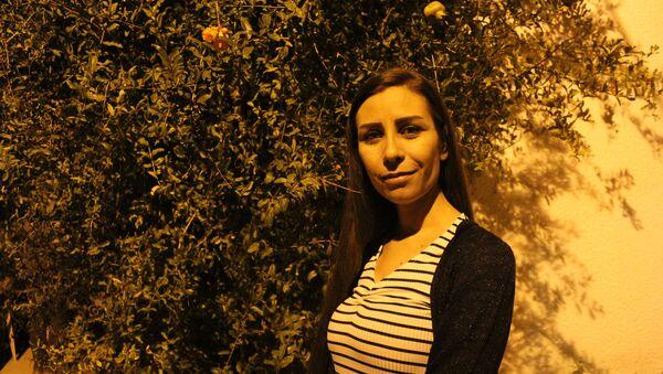 Yara Saleh, corresponsal de guerra siria - Sputnik Mundo