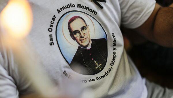 El retrato de monseñor Óscar Arnulfo Romero - Sputnik Mundo