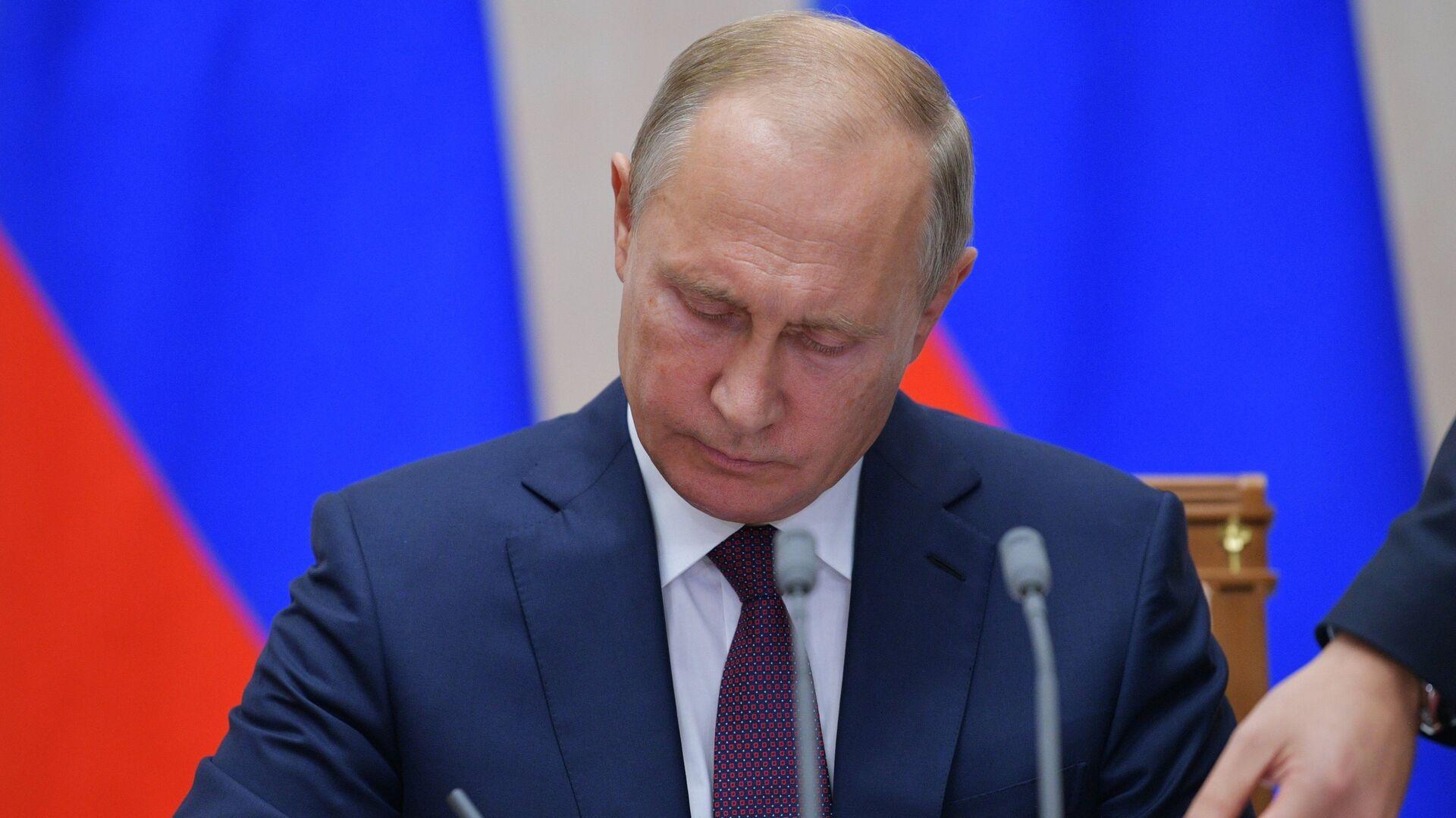 Vladímir Putin, presidente de Rusia - Sputnik Mundo, 1920, 30.04.2021