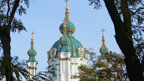 Una iglesia en Kiev (imagen referencial) - Sputnik Mundo