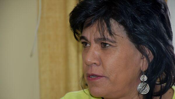 Katia Uriona, la presidenta del Tribunal Supremo Electoral  de Bolivia - Sputnik Mundo