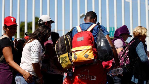 Migrantes de América Central - Sputnik Mundo