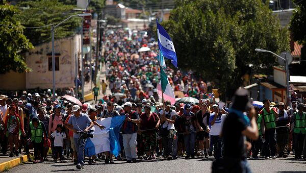 Migrantes de América Central en México - Sputnik Mundo