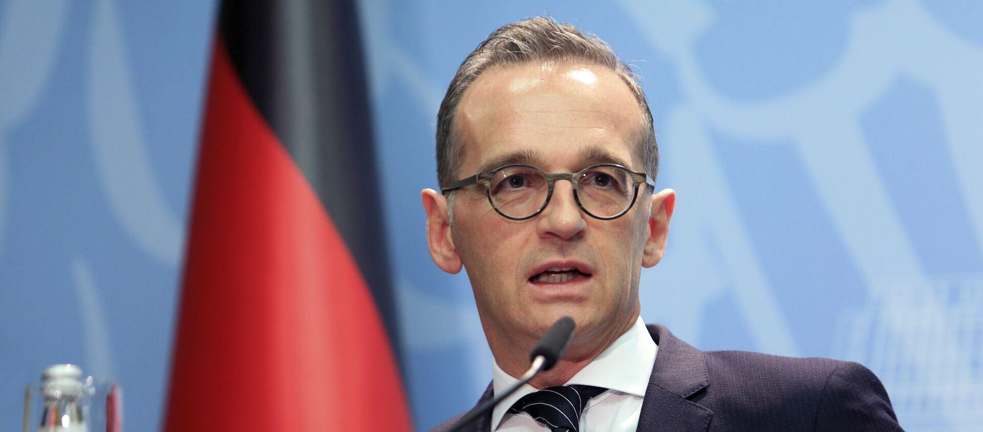 Heiko Maas, ministro de Exteriores de Alemania  - Sputnik Mundo, 1920, 08.10.2020
