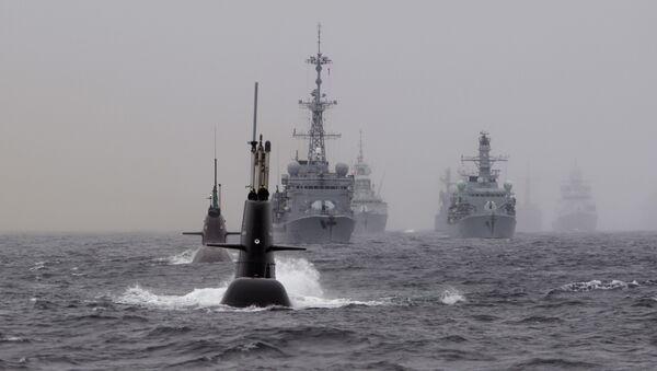 Ejercicios antisubmarinos de la OTAN (archivo) - Sputnik Mundo