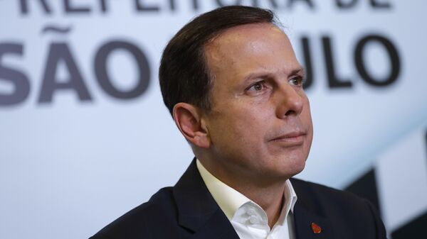 Joao Doria, gobernador del estado de Sao Paulo - Sputnik Mundo