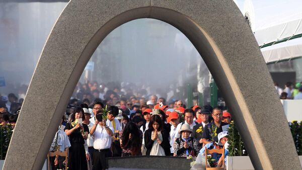 Monumento de la Paz en Hiroshima (archivo) - Sputnik Mundo