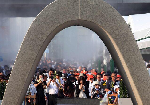 Monumento de la Paz en Hiroshima (archivo)