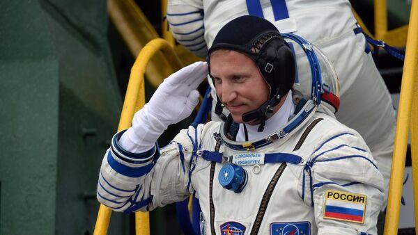 Serguéi Prokópiev, cosmonauta ruso - Sputnik Mundo
