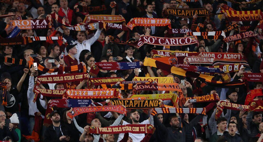 Hinchas del Roma