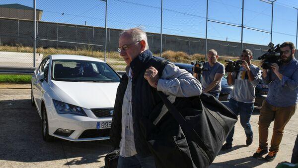 Rodrigo Rato, exdirector del Fondo Monetario Internacional, llega a 'Soto del Real' - Sputnik Mundo