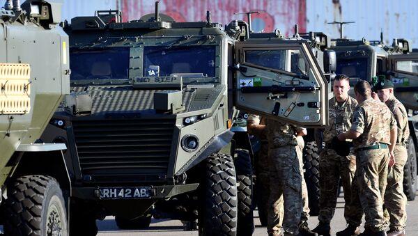 Soldados de la OTAN viajan a Noruega - Sputnik Mundo
