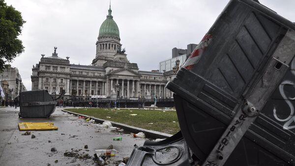Los disturbios en Argentina - Sputnik Mundo