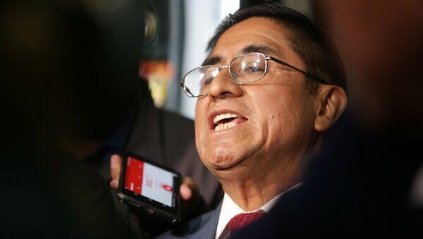 César Hinostroza, exjuez peruano - Sputnik Mundo