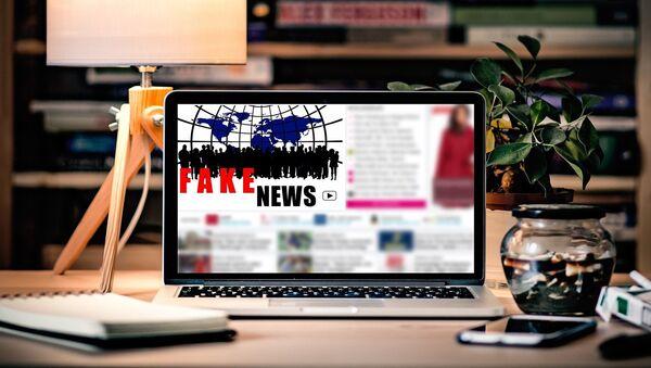 Noticias falsas (imagen referencial) - Sputnik Mundo
