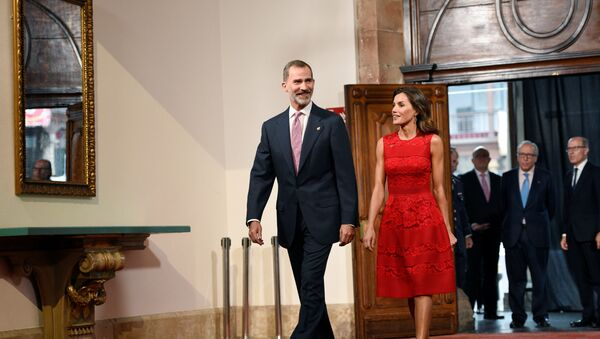 El rey Felipe VI de España y la reina Letizia - Sputnik Mundo