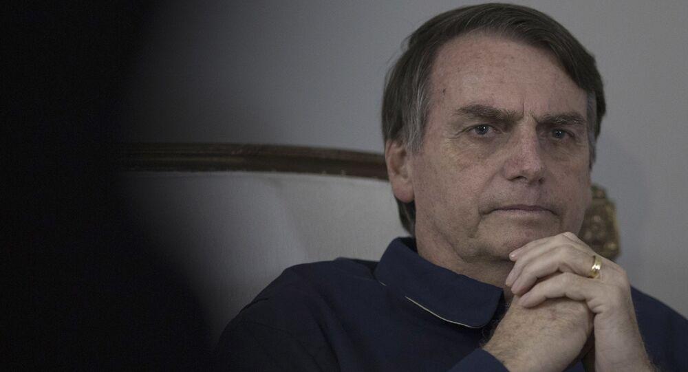 Jair Bolsonaro, el presidente brasileño