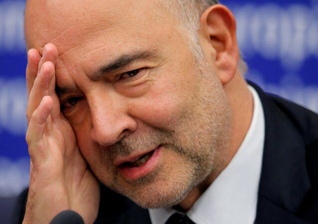 Pierre Moscovici, el comisario europeo de Asuntos Económicos