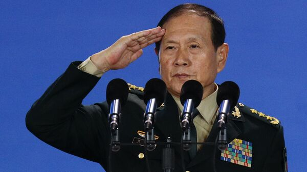Wei Fenghe, ministro de Defensa chino, en la ceremonia de la inauguración del Foro Xiangshan en Pekín - Sputnik Mundo