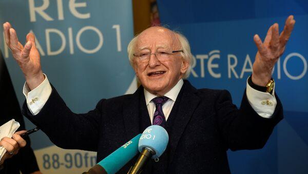 El presidente de Irlanda, Michael D. Higgins - Sputnik Mundo