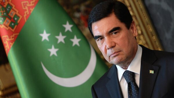 El presidente de Turkmenistán, Gurbanguly Berdimuhamedov - Sputnik Mundo