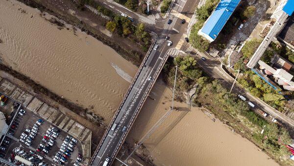 Inundación en el sur de Rusia - Sputnik Mundo