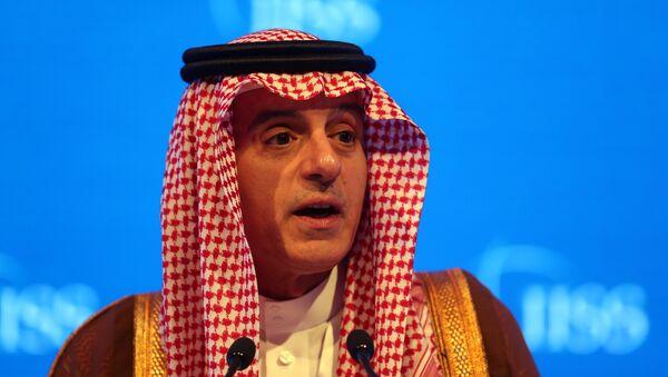 Adel Jubeir, el ministro saudí de Exteriores - Sputnik Mundo