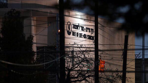 La sinagoga Tree of Life en Pittsburgh, EEUU - Sputnik Mundo