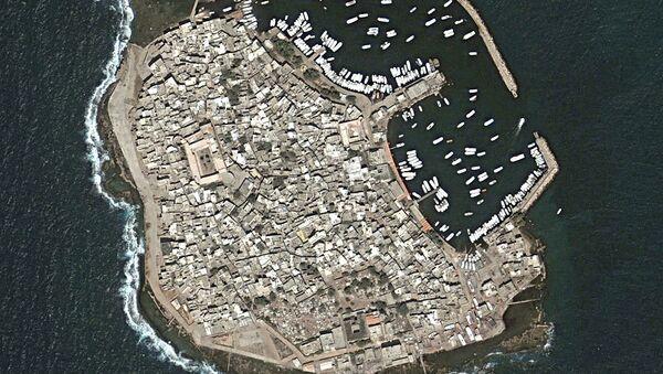 La isla siria de Arwad - Sputnik Mundo