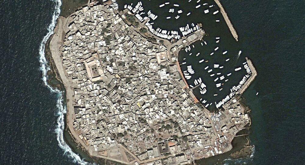 La isla siria de Arwad