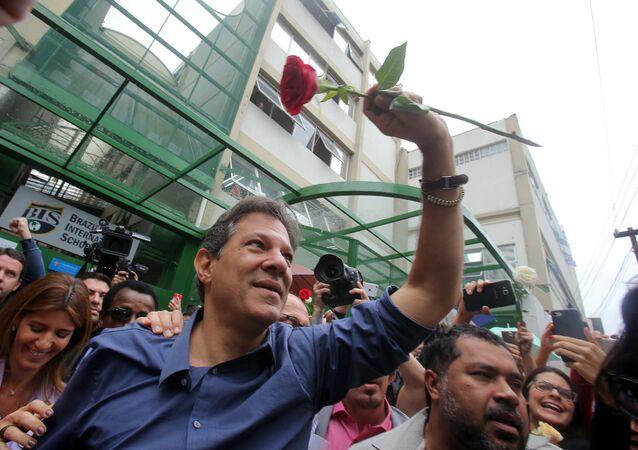 Fernando Haddad, candidato a la Presidencia de Brasil