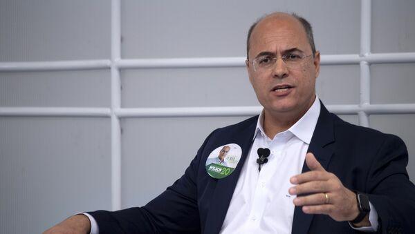 Wilson Witzel, próximo gobernador del estado de Río de Janeiro - Sputnik Mundo